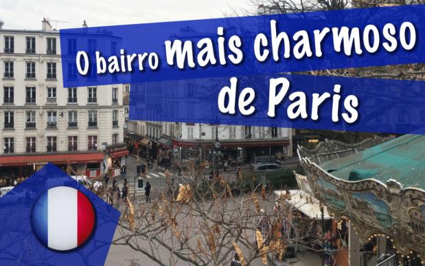 O bairro mais charmoso de Montmartre